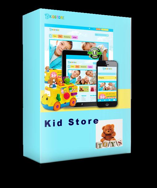 Kid Store -  Theme