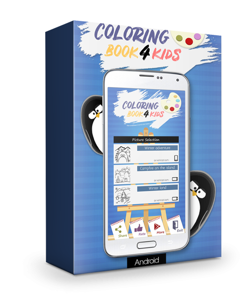 Coloring Book For Kids With CMS