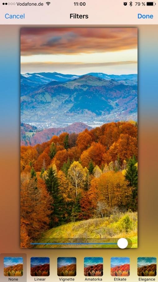 iOS Photo Editor App Template