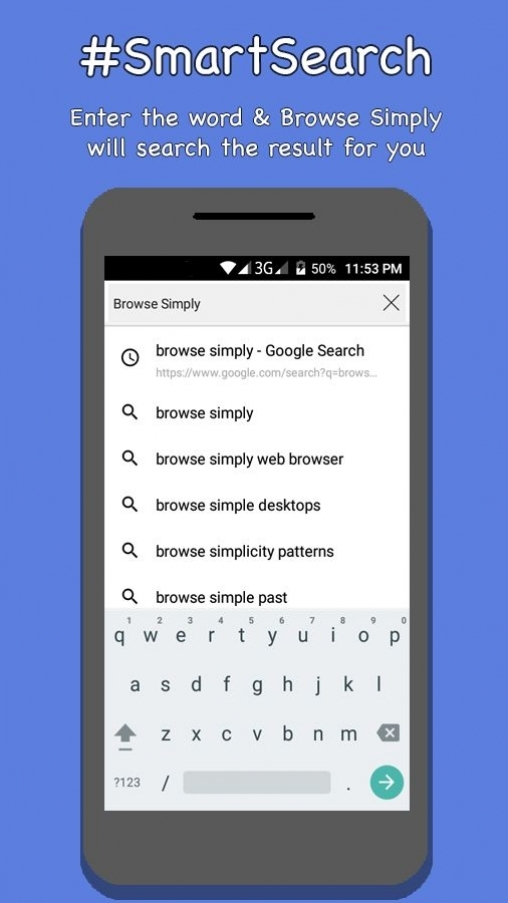 Browse Simply - Android Web Browser