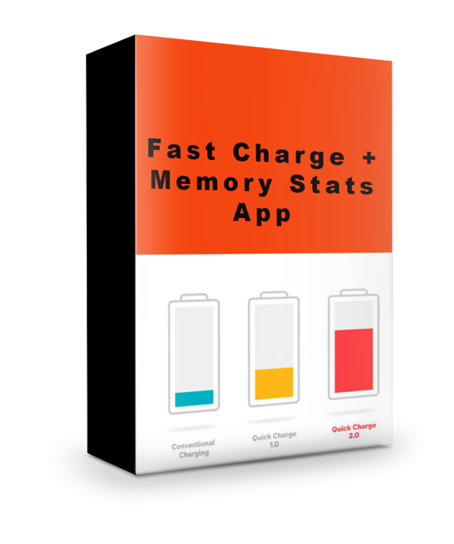 Fast Charge + Memory Stats App