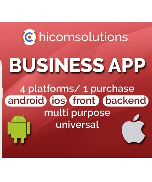 Business App - Android iOS App