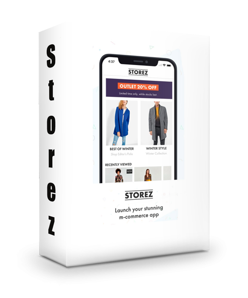 Storez -   iOS eCommerce App