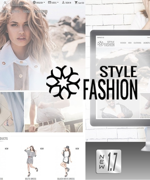Classic Style Fashion  Theme