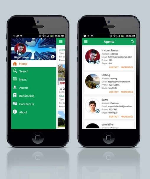 Real Estate Social Android App