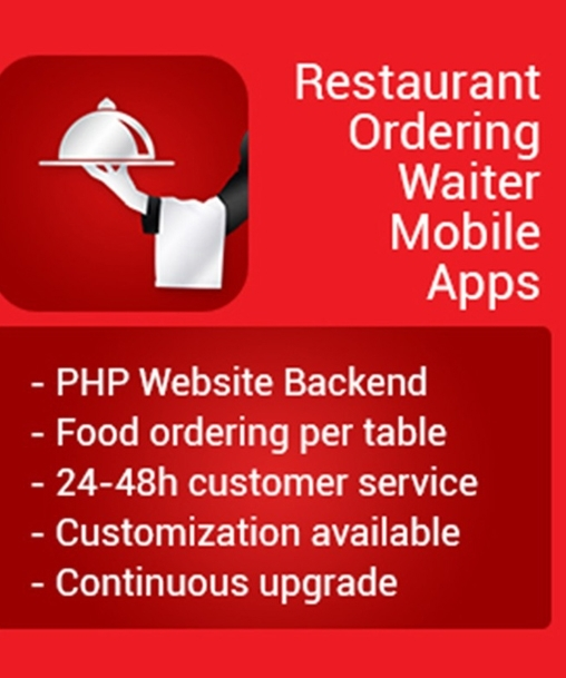 Waiter in Restaurant iOS App